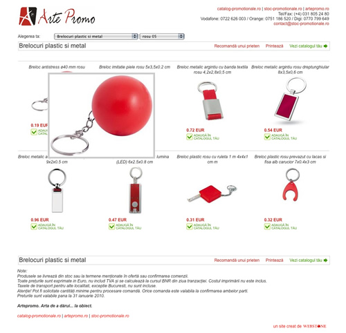 artepromo - catalog promotionale