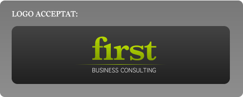 Logo acceptat First Business